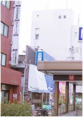 大阪市阿倍野区にある店舗外観