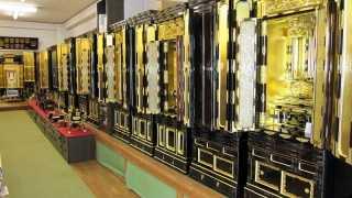 伝統型の金仏壇は宗派に合わせてお選びいただけます