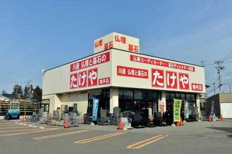 駐車場を完備した国道107号線沿いの店舗外観
