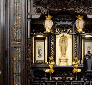 高級な伝統的工芸品の唐木仏壇