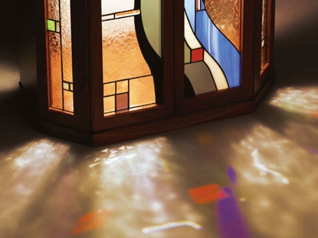 ステンドガラス仏壇アンティコ