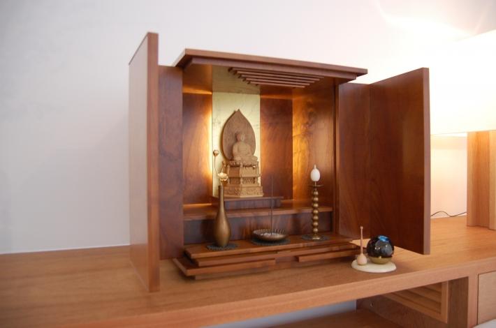 上置仏壇 390