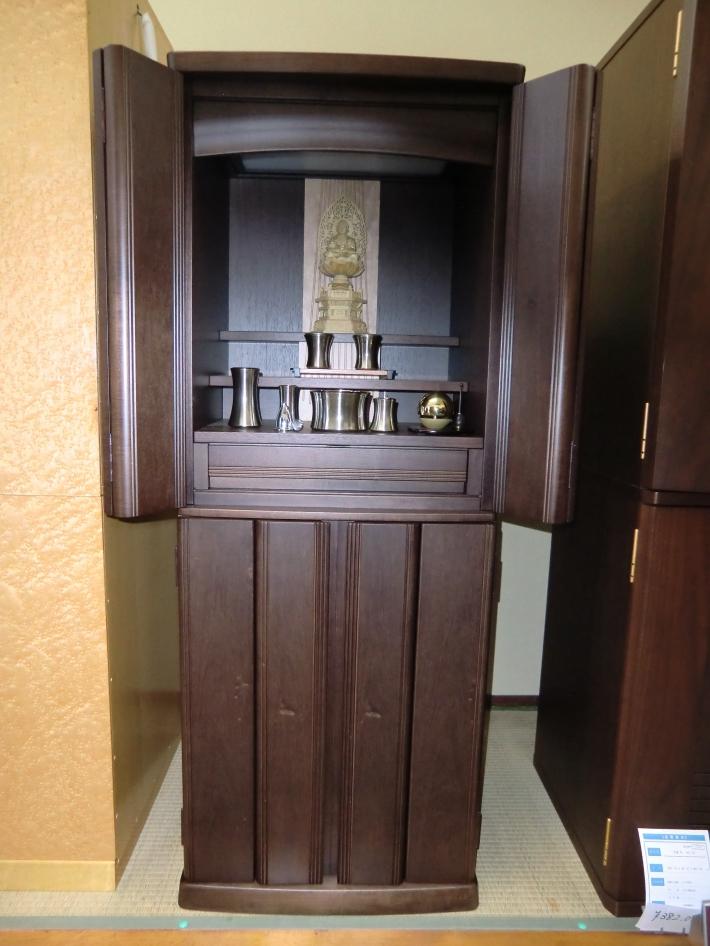 41×15 マンソニア 国産 仏具、仏像(ツゲ)付き