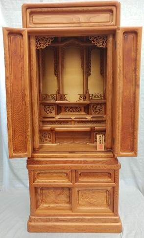 ダルマ型 屋久杉 45号(伝統工芸品仏壇)