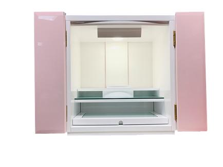 リクニス ホワイト/ピンク 高さ47.5cm(国産品)