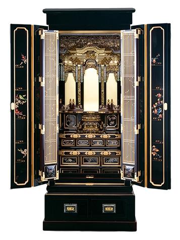輪島塗仏壇二尺型