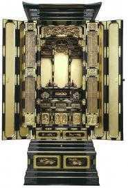 金仏壇 七十代前開き