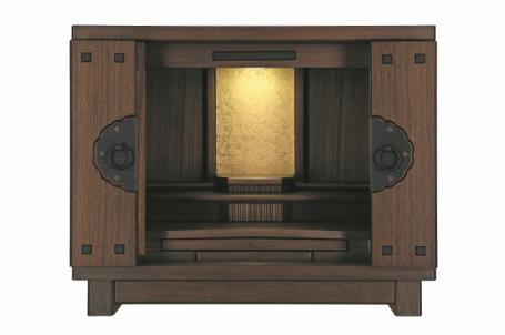聖なる空間を守るデザインの上置仏壇
