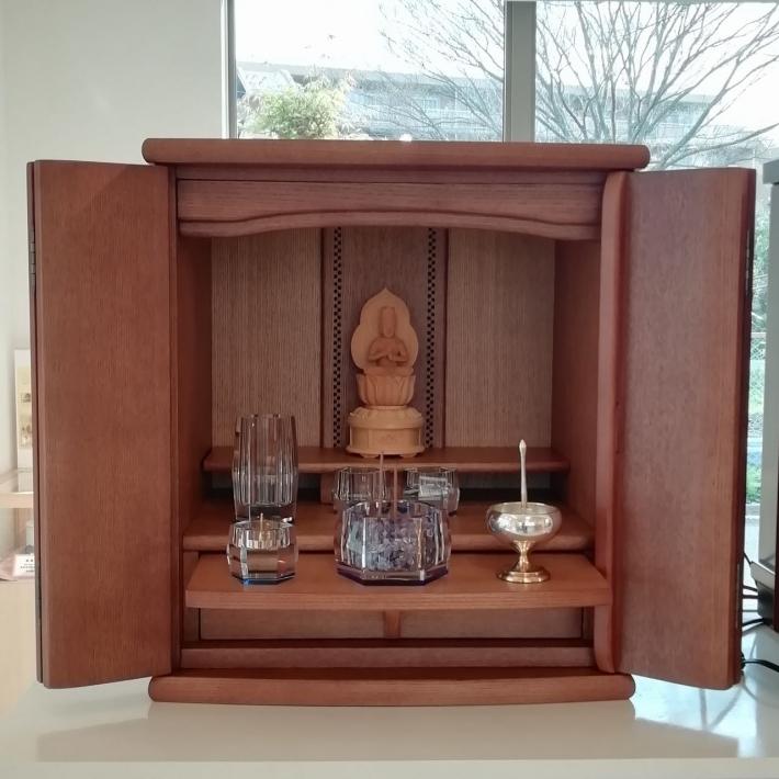 家具調仏壇 14号 タモ ブラウン AMR