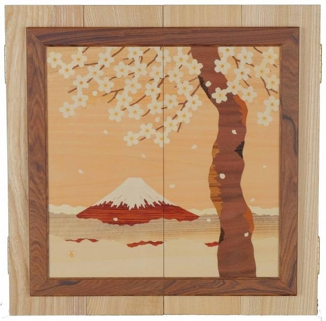 壁壇 桜富士